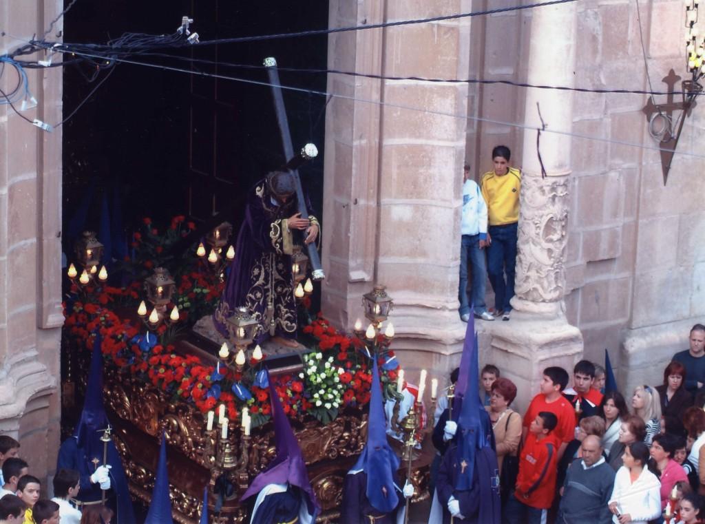 Nazareno saliendo de la Iglesia (2006)