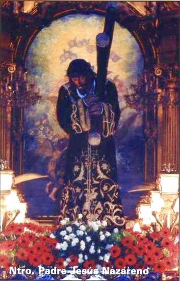 Nazareno en capilla Virgen del Remedio