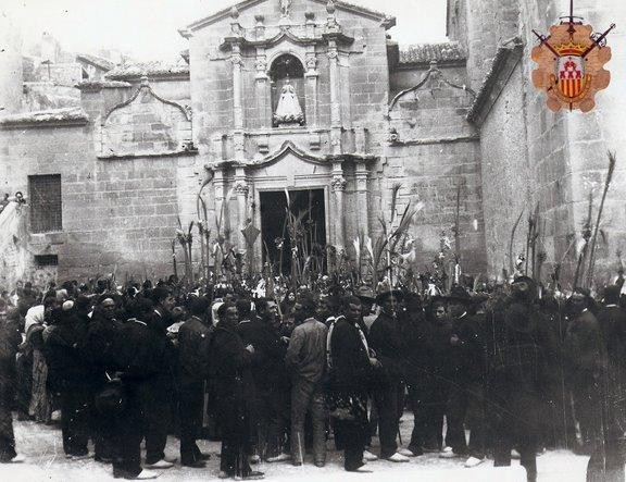 Domingo de ramos de 1901
