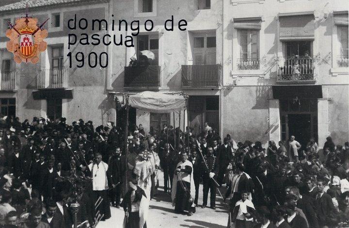 Domingo de pascua 1900