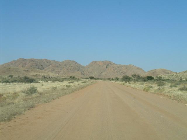 ナミビア|ナミブ砂漠ソススフレイへの道