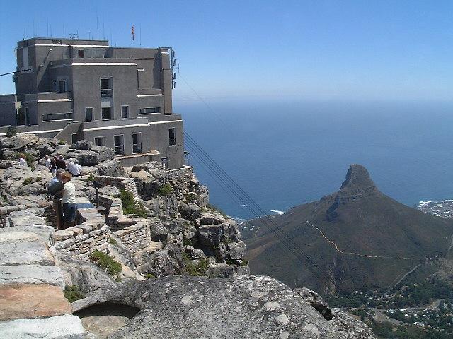 南アフリカ|ケープタウン・テーブルマウンテンとライオンヘッド