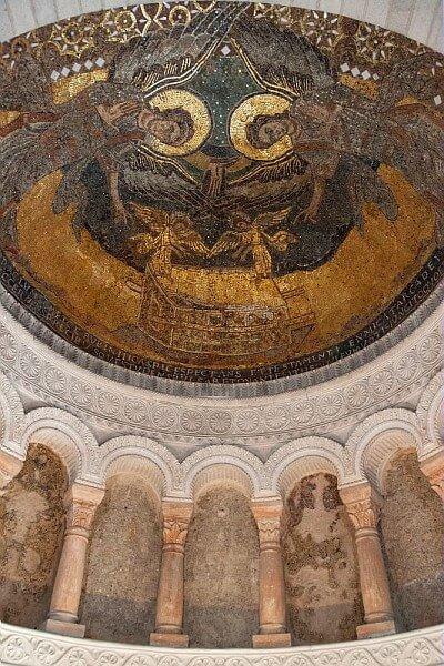 La mosaïque de l'Oratoire de Germigny des Prés