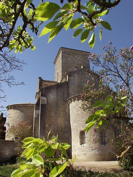L'Oratoire carolingien de Germigny des Prés dans le Loiret