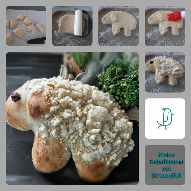 Kleine Osterlämmer mit Streuselfell vom Zauberstein von Pampered Chef®