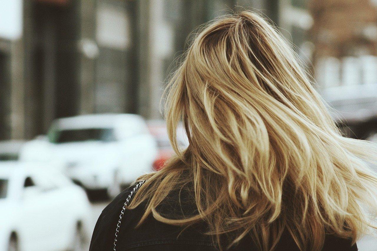 Volles gesundes Haar