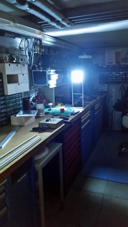 Blick in die Xenon-LED's
