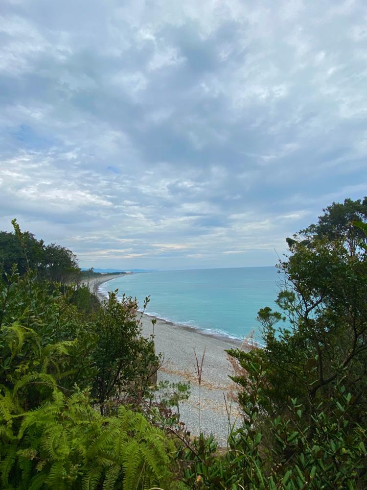 海が見える 波が聴こえる 熊野古道