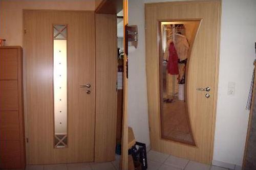 Renovierte Tür