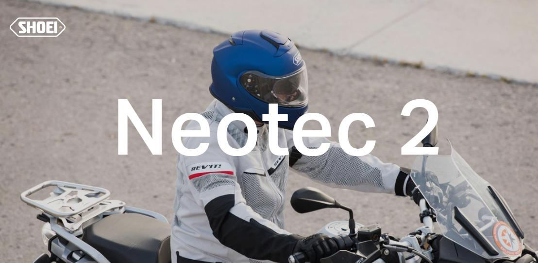Il Nuovo Neotec II, fondersi con la Natura - Shoei Italia