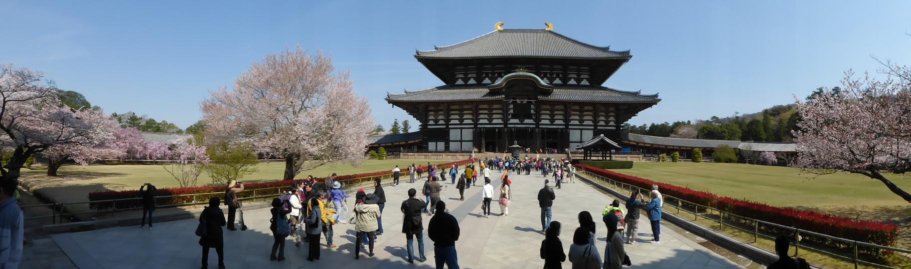 Todaiji-Tempel  Nara/Japan