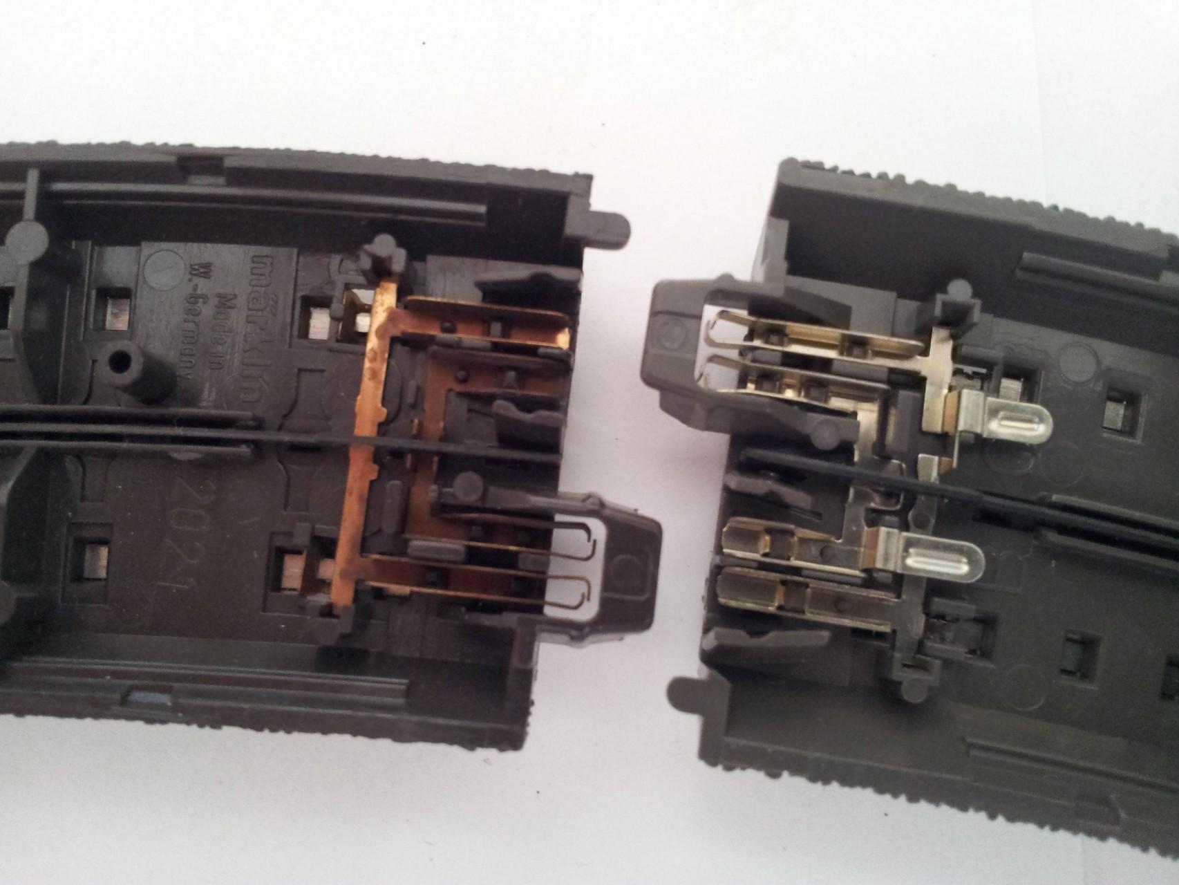 """Die elektrische Verbindung und das """"Click""""System sind ebenfalls identisch und passen perfekt"""