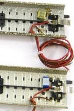 Entstörungskondensatoren am Beispiel des M-Gleises.