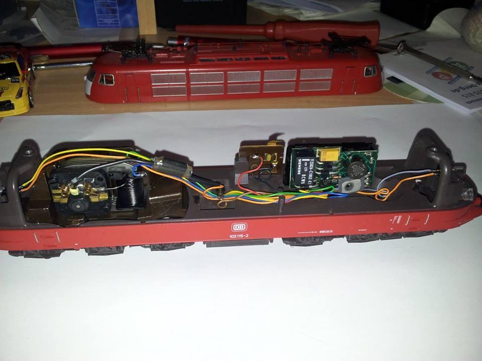 Original Zustand mit elektronischem Fahrrichtungsumschalter