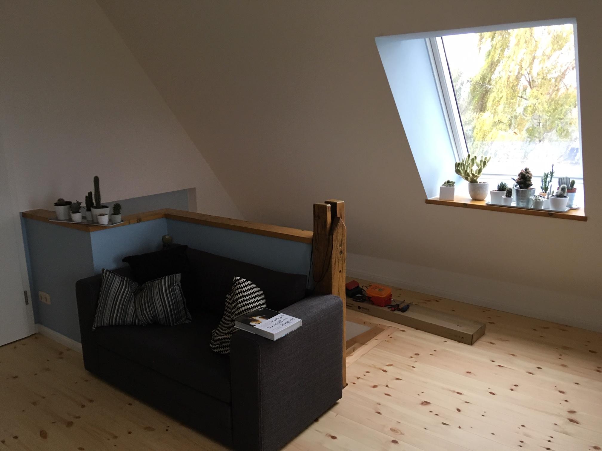 neuer Spitzboden