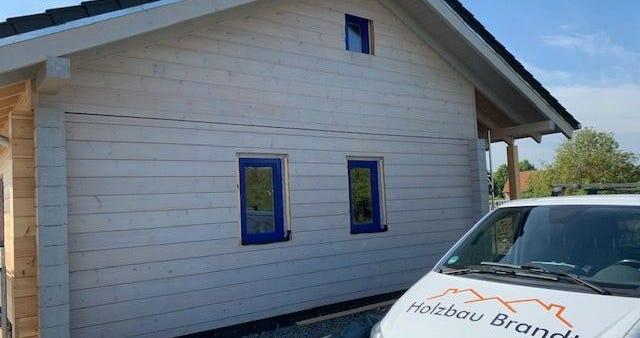 Blockhaus als Niedrigenergiehaus - Massivholzhaus - Finnische Holzhäuser in Blockbauweise  - Bayern - München