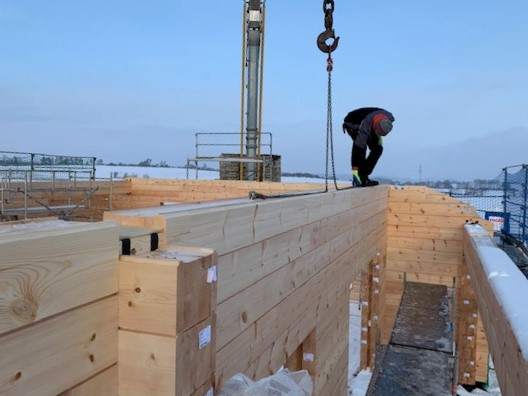 Blockhaus bauen