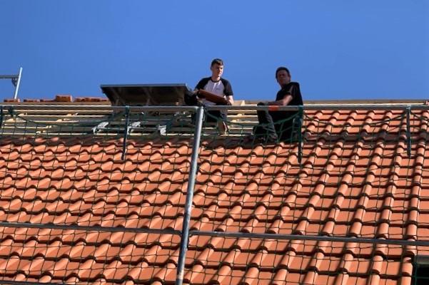 Stellenangebot -  Baubranche -  Zimmerleute - Dachstühle - Dachdämmung - Holzminden - Dachfenster - Dachrinnen - Blitzschutzanlagen - Solaranlagen - Dachdecker - Bodenwerder - Niedersachsen - Holzbau