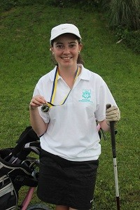 Mikayla King - now in the USA on a golfing scholarship