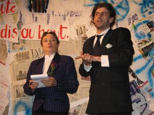 Elizabeth Moulia-Coyos et Samuel Jego