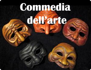 Créations commedia dell'arte - Théâtre du Versant - Biarritz