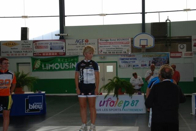 Remise officiel du maillot national UFOLEP 2012