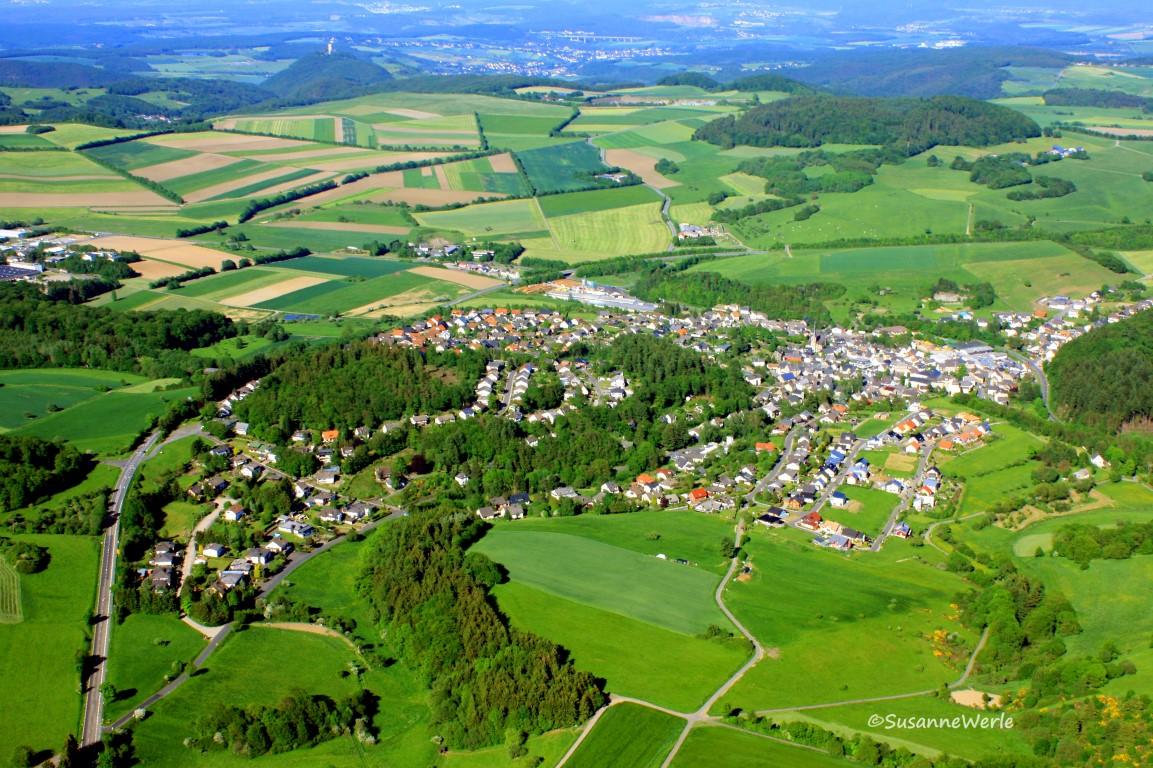 Luftaufnahme Kempenich [Urheber Susanne Werle]