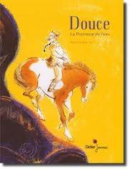 un bel album sur l'amitié entre une fille et un cheval