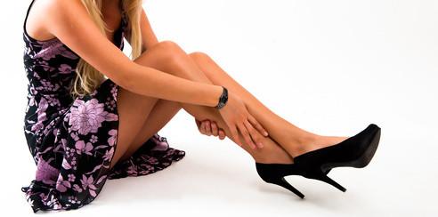 Schöne Beine - frei von Krampfadern
