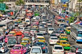 バンコクの渋滞は相変わらず。