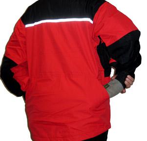 Grosse, beidseitig offene Rückentasche für Bringholz, Futterbeutel, Leine usw.