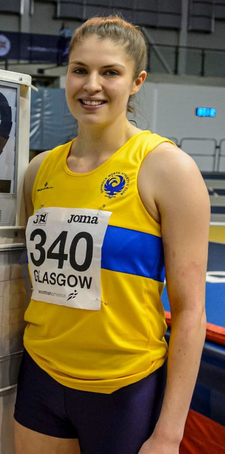 Scottish record holder Nikki Manson, photo by Bobby Gavin