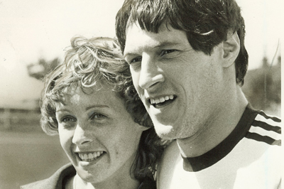 Allan Wells and wife Margot