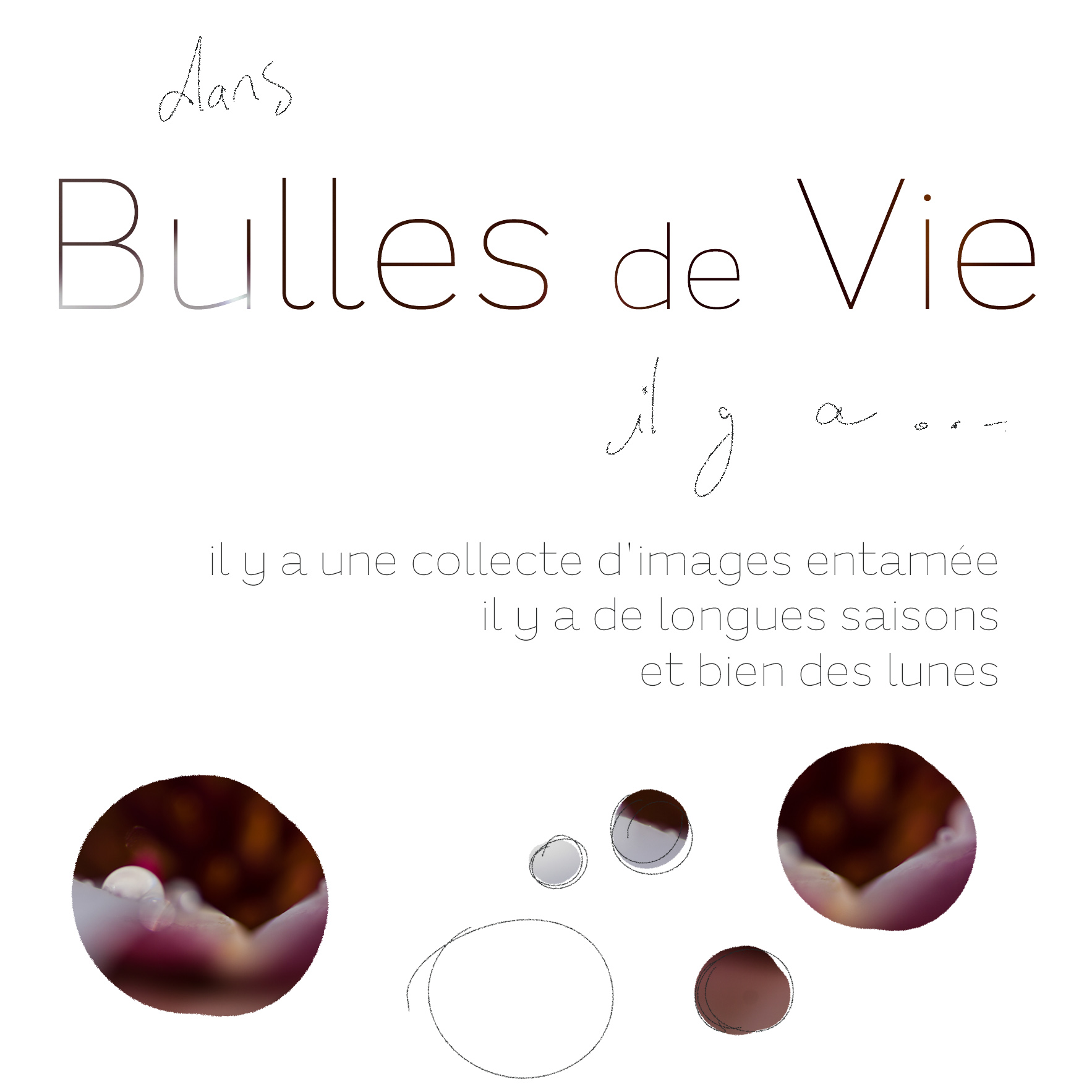introduction... humhum... ('est parti ;-) !) bulles de vie @johannegicquel