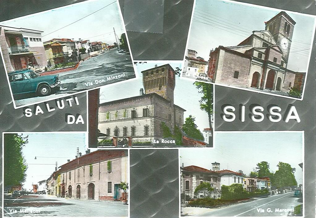 Pro Loco Sissa - Cartolina 1950