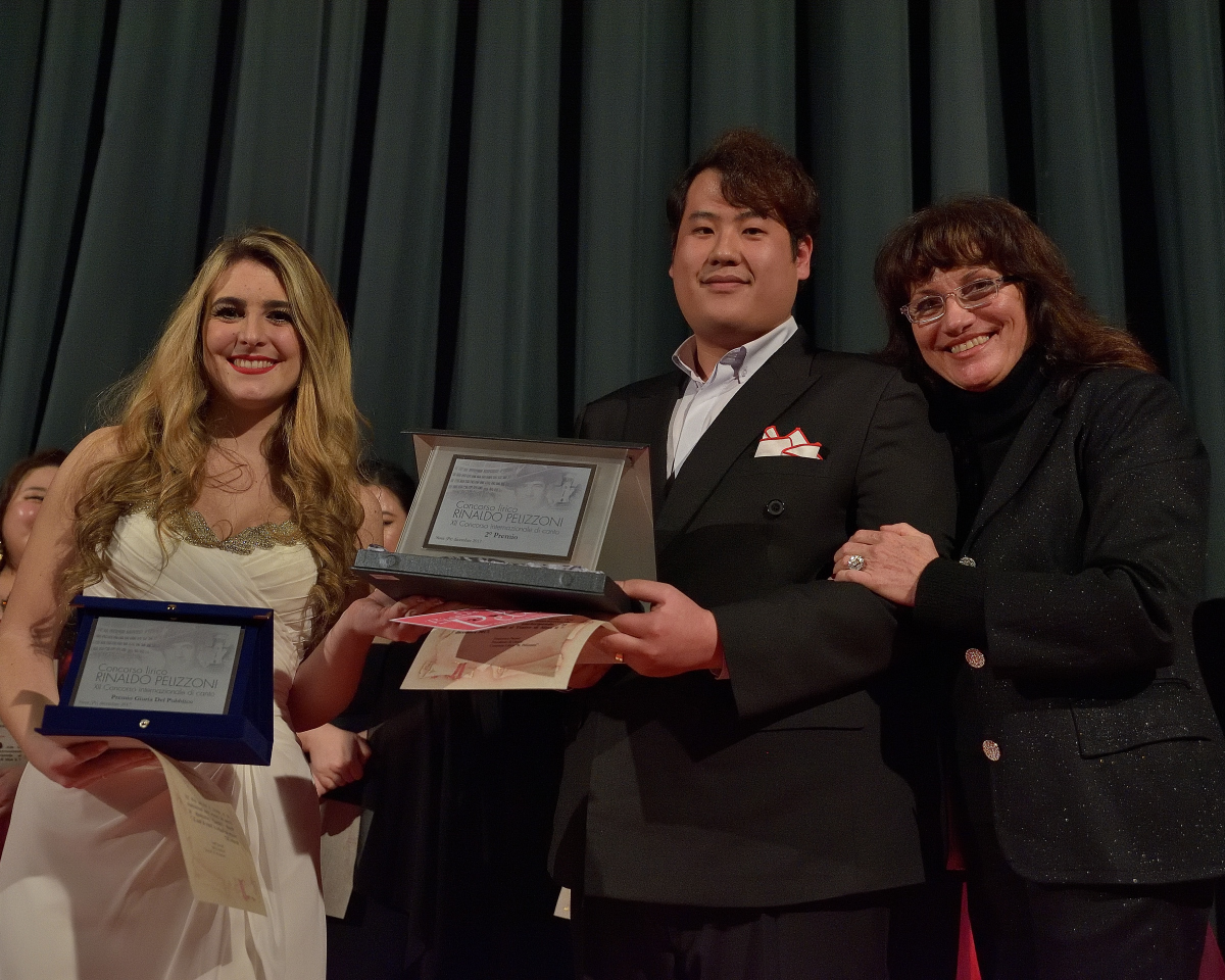 II° Premio ex-aequo Sofia Esparza Jauregui,  soprano Chi Hoon (Ettore) Lee, baritono