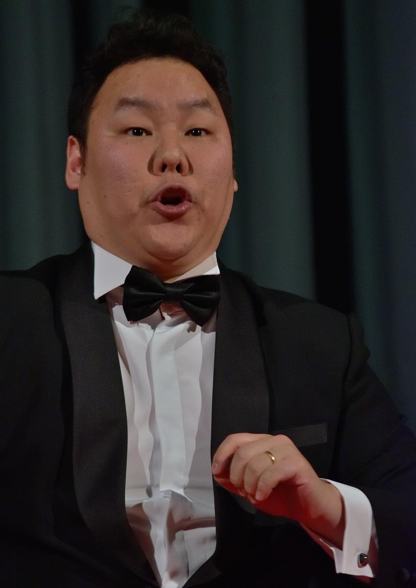 Dong Huy Kim, baritono Le femmine d'Italia (Rossini – Italiana in Algeri)