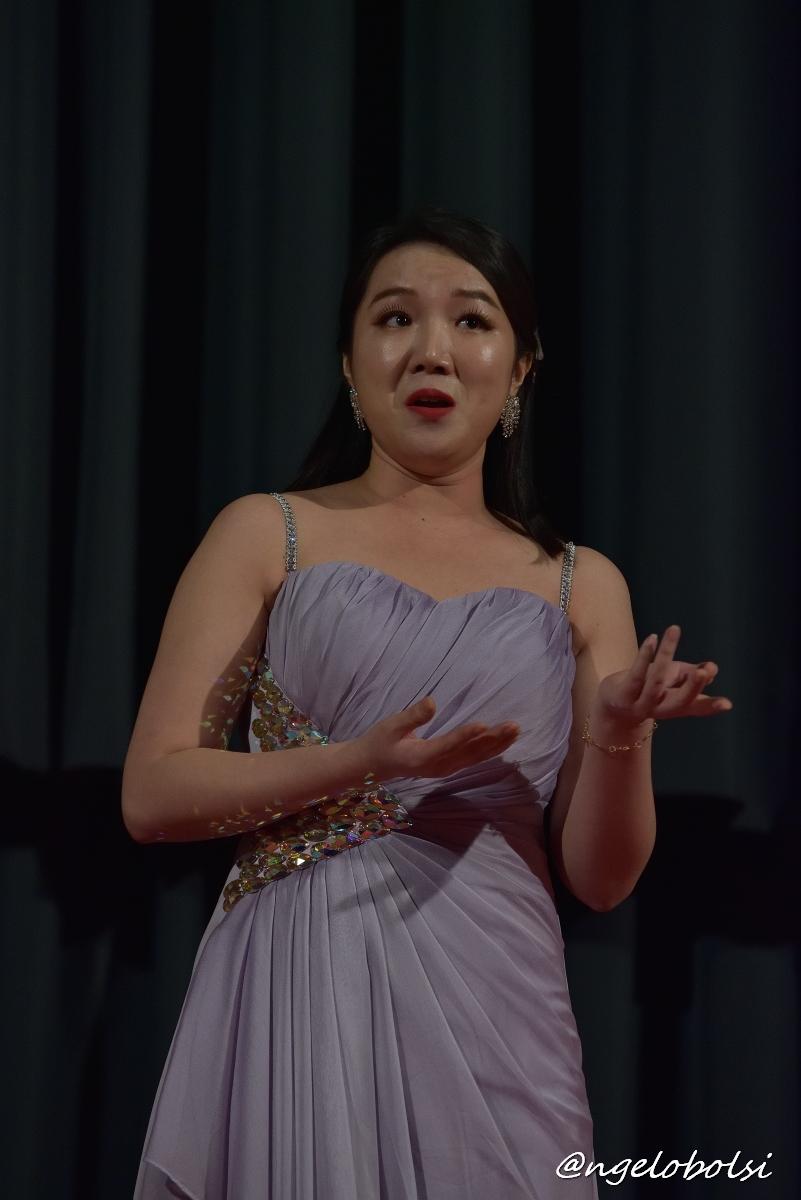 Hyunjoo Ji, soprano  Quel guardo il cavaliere  (Donizetti – Don Pasquale)