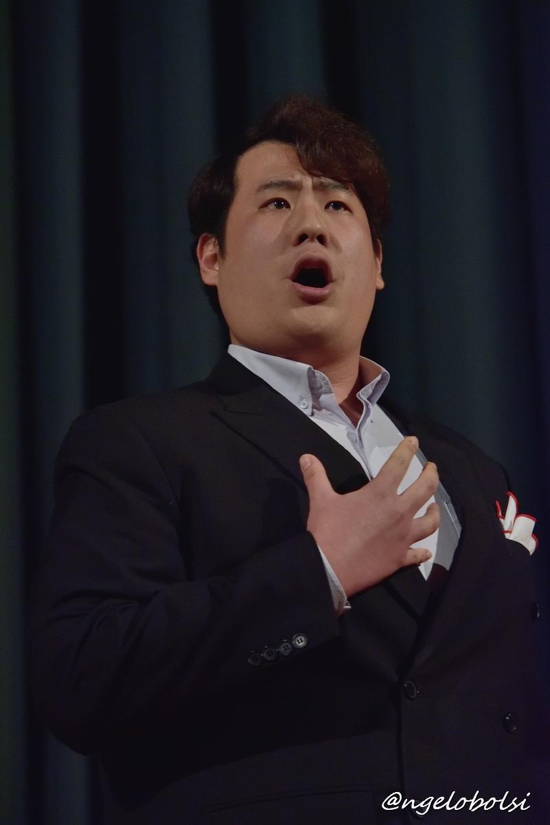 Chi Hoon (Ettore) Lee, baritono Nemico della Patria (U. Giordano – Andrea Chénier)