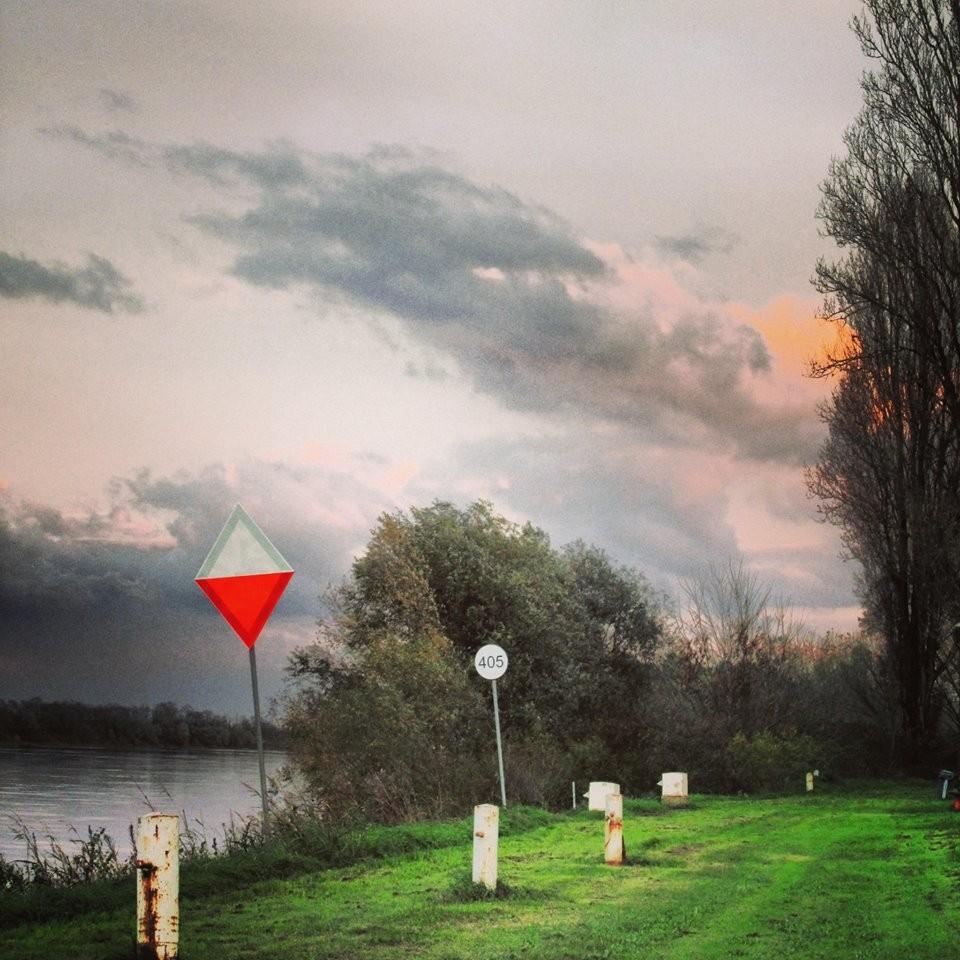 Pro Loco Sissa - Il Po Segnali per la navigazione (foto di Alessia)