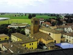 Pro Loco Sissa - La Chiesa dall'alto