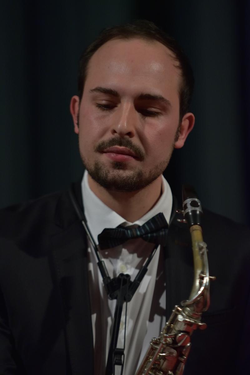 Roberto Vignoli, saxofono