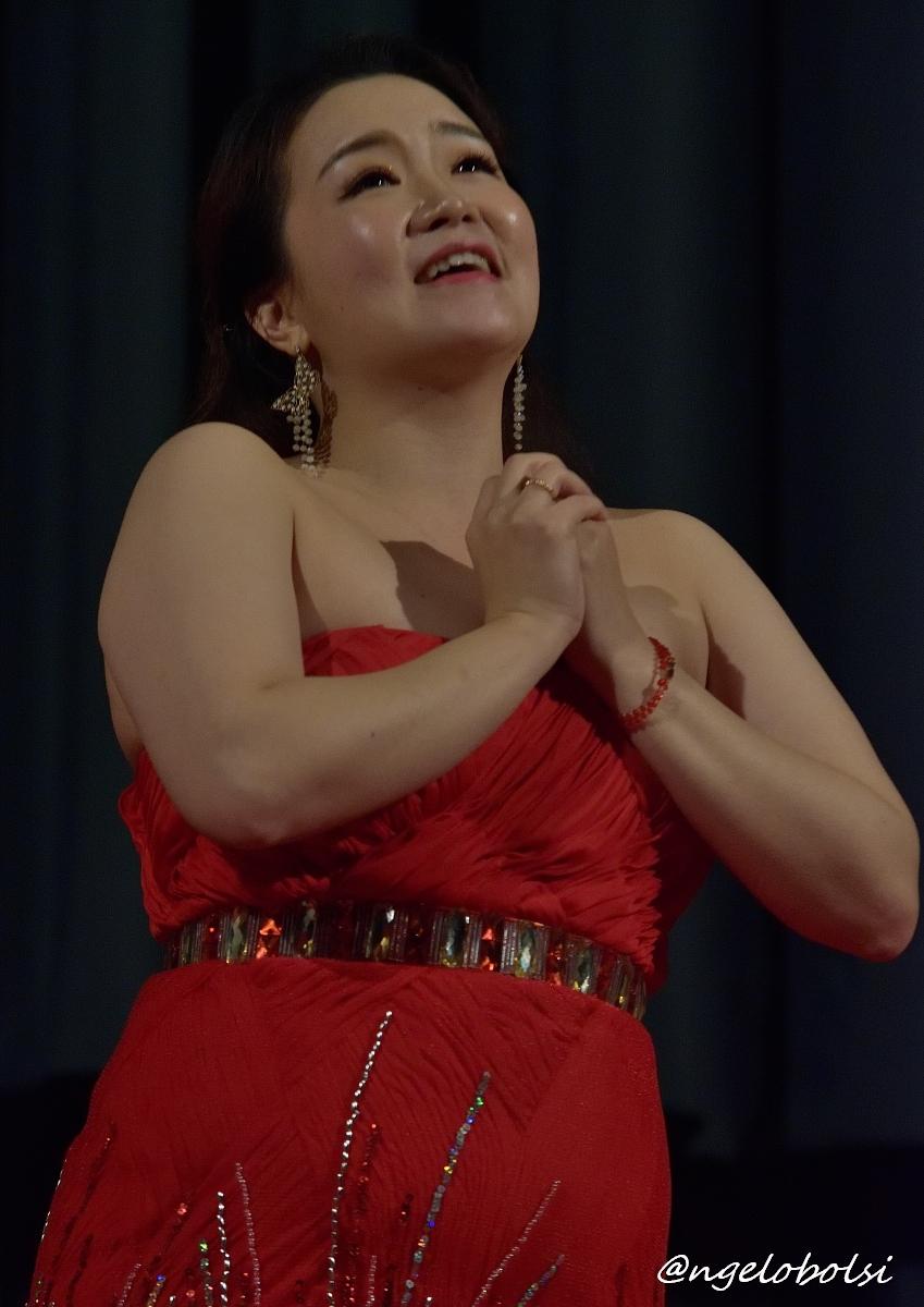 Hyewon Jung, soprano  Caro Nome  (Verdi - Rigoletto)