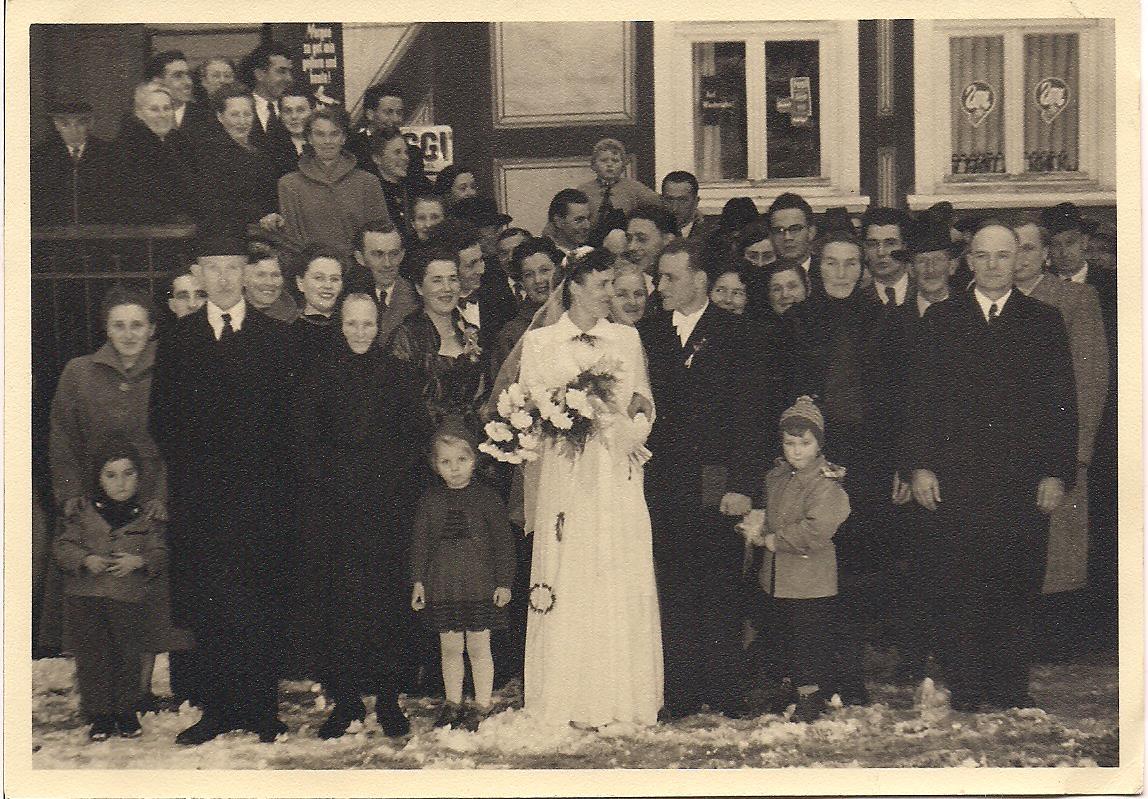 7. Hochzeitspaar Ernst und Luise Balzer, geb. Specht