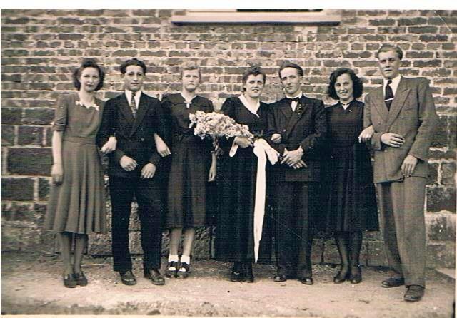 11. Hochzeitspaar Ernst und Luise Schmitt, geb. Reibert