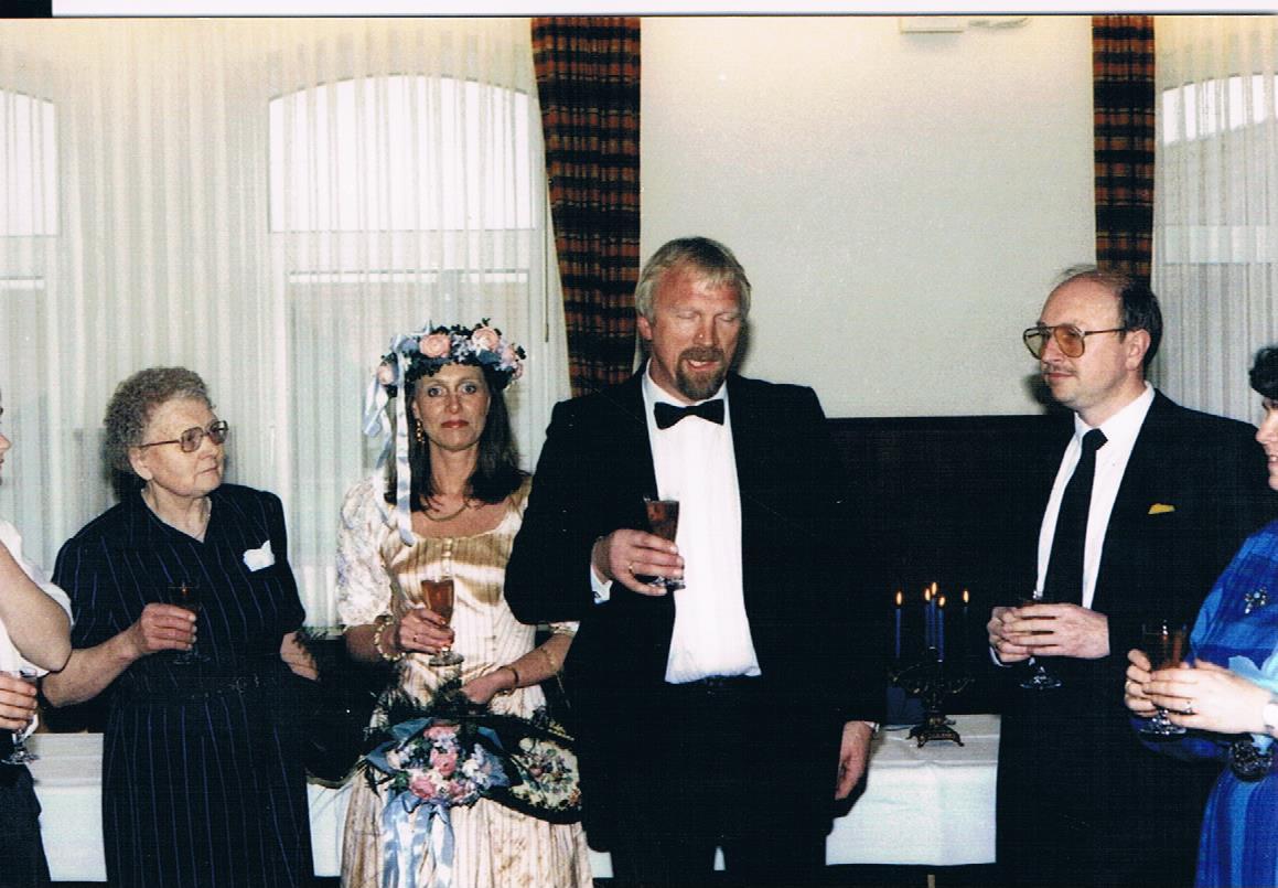 Hochzeitspaar Karl und