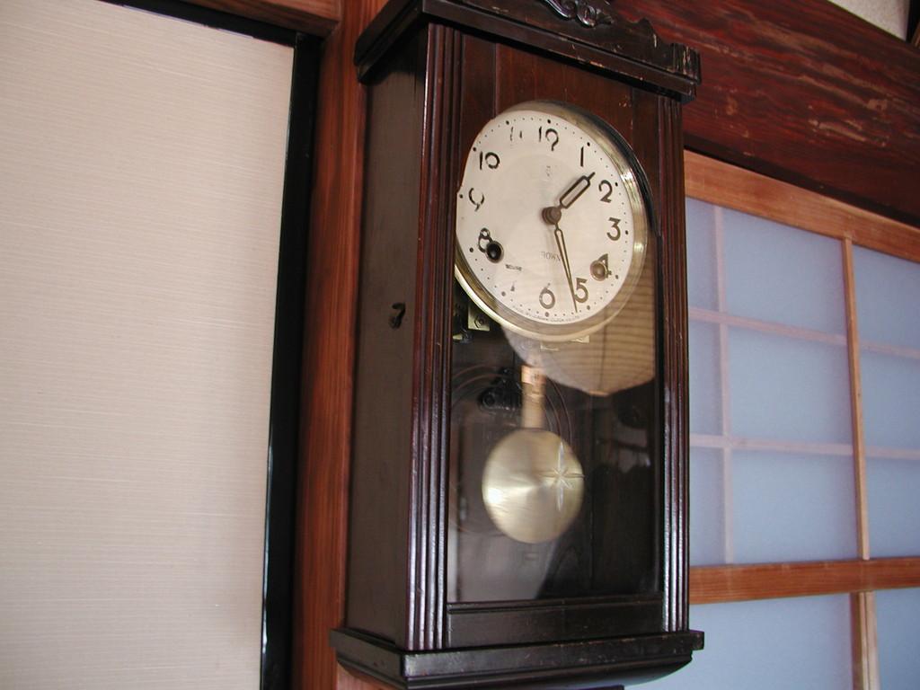 柱時計(村野)