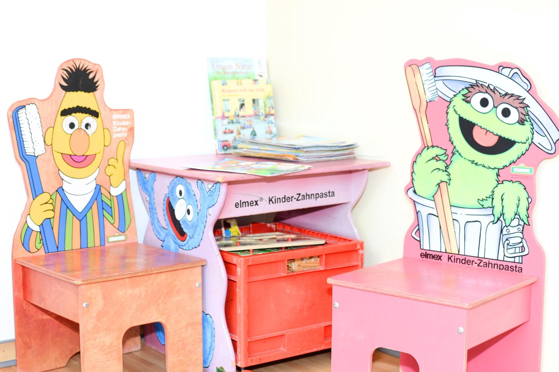Wartezimmer - Kinderbereich