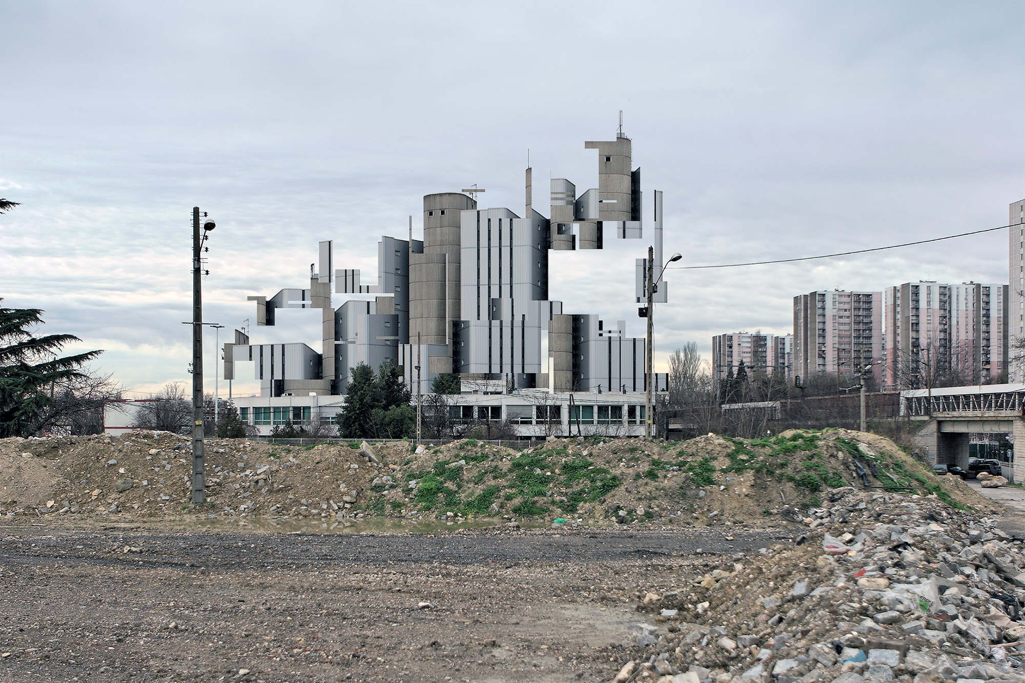Untitled (Anarchitecture from WYSI*not*WYG project by Olivier Ratsi)