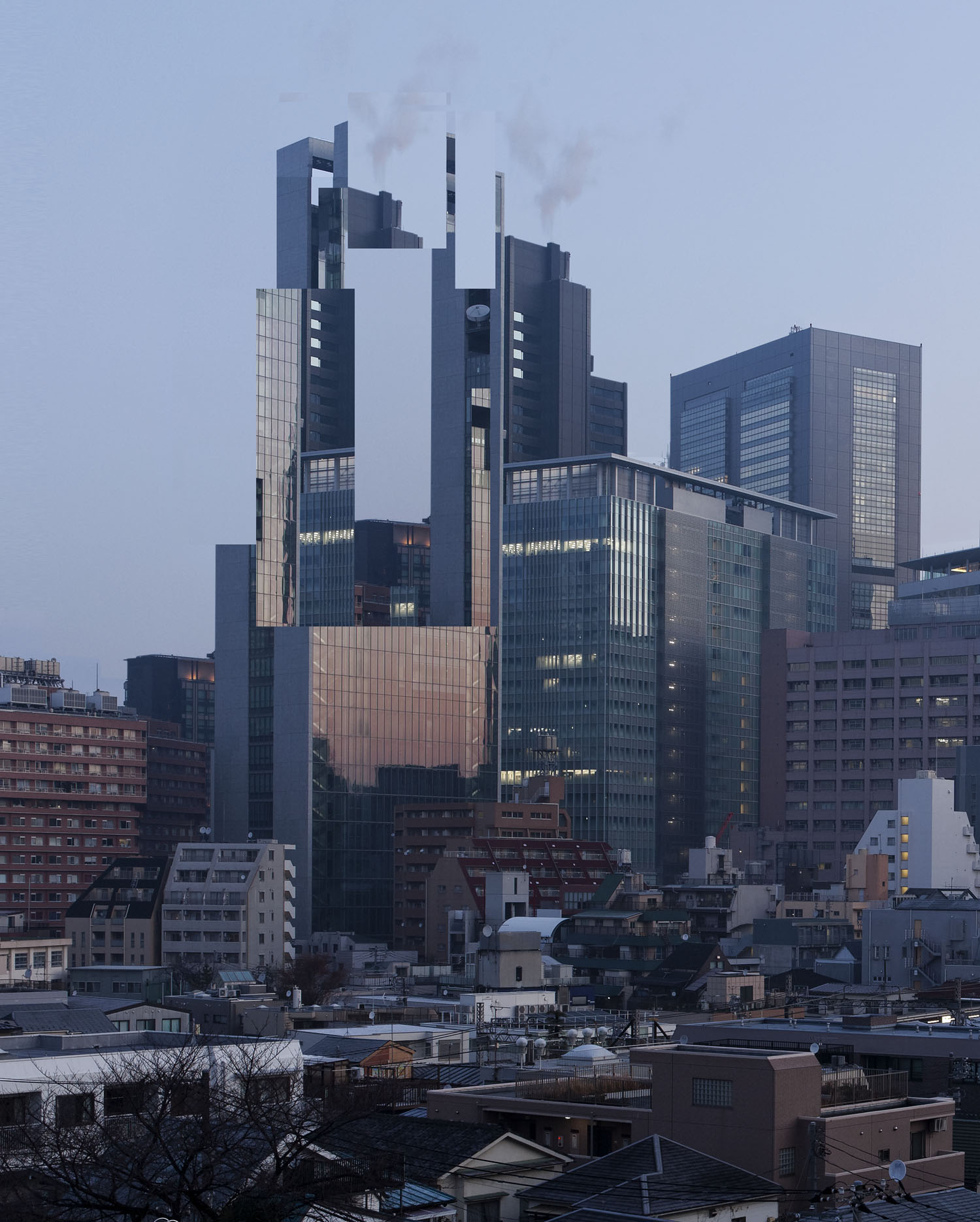 Anarchitecture in Tokyo (from WYSI*not*WYG project by Olivier Ratsi)